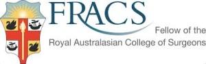 FRACS Certificate Frames