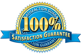 Your Certificate Frame come with a 100% guarantee