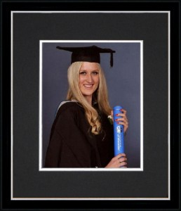 University Graduation photo frames for Australian students.