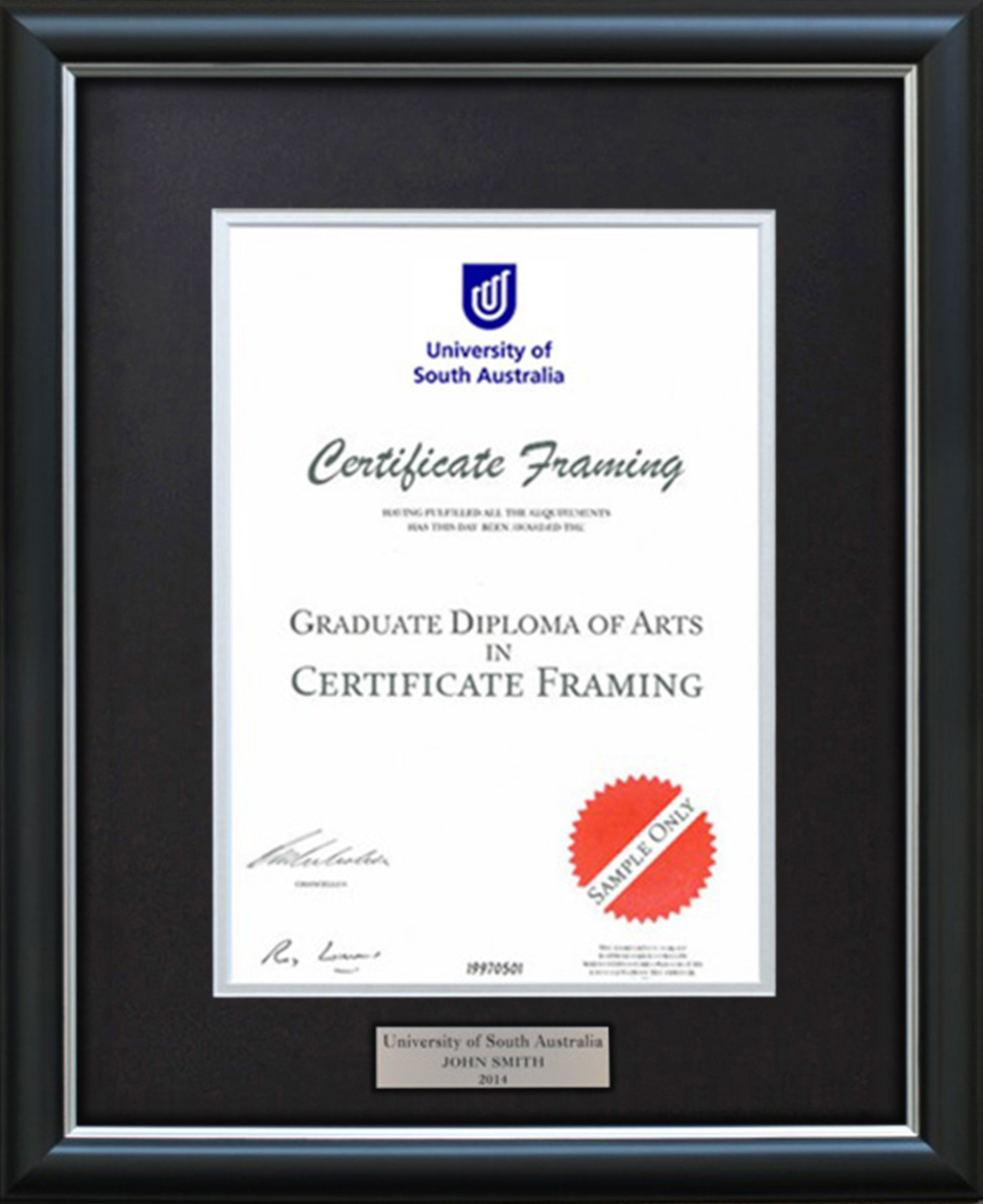 Certificate Frame For Your James Cook University Degree