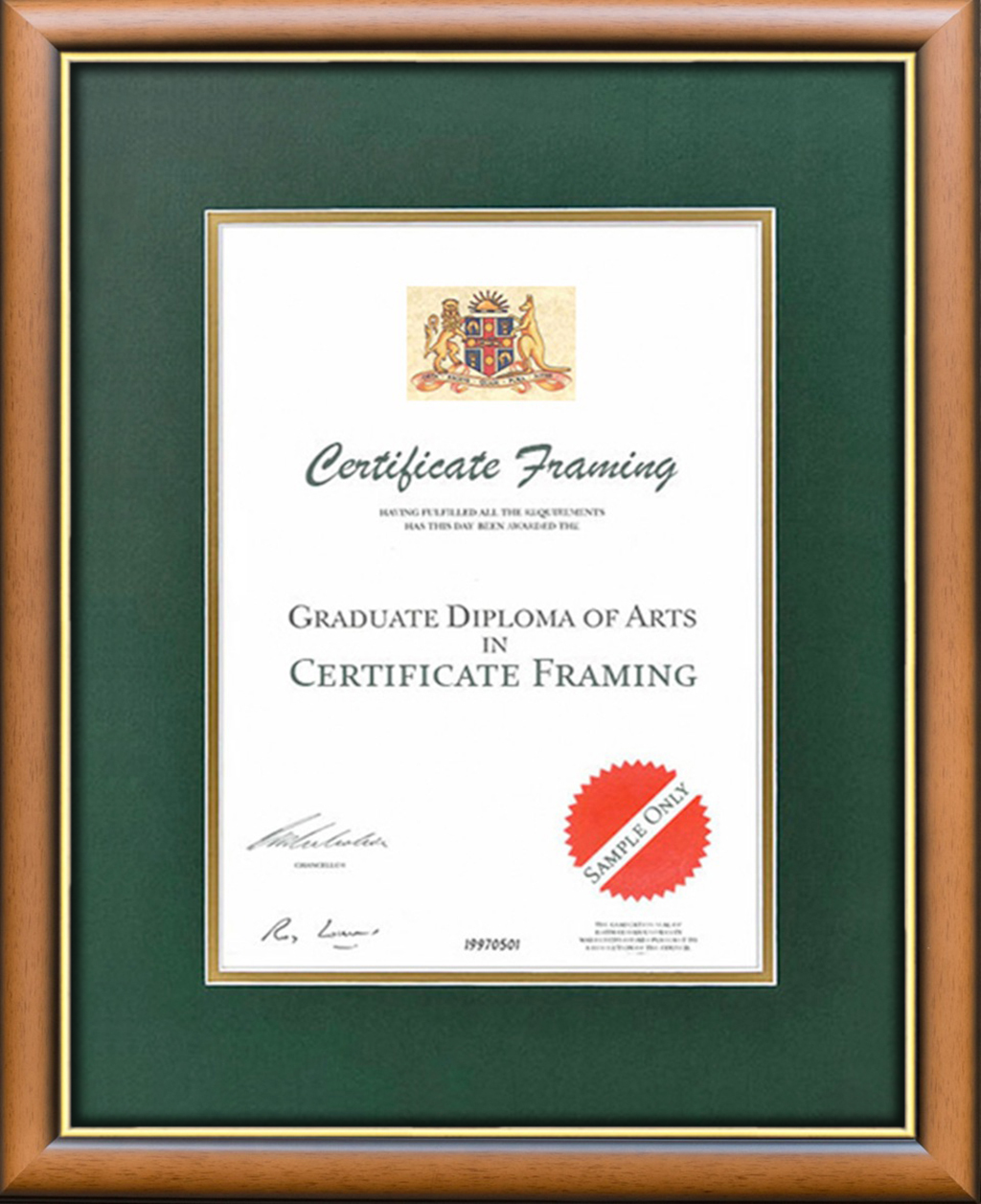 Certificate Frames For Your University Of Wollongong Degree