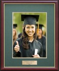 Order A Matching Graduation Photo Frame ONLY $49. Made with same Frame Finish and Double Mat Colours