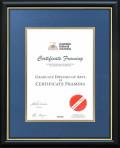 Australian National University degree frame
