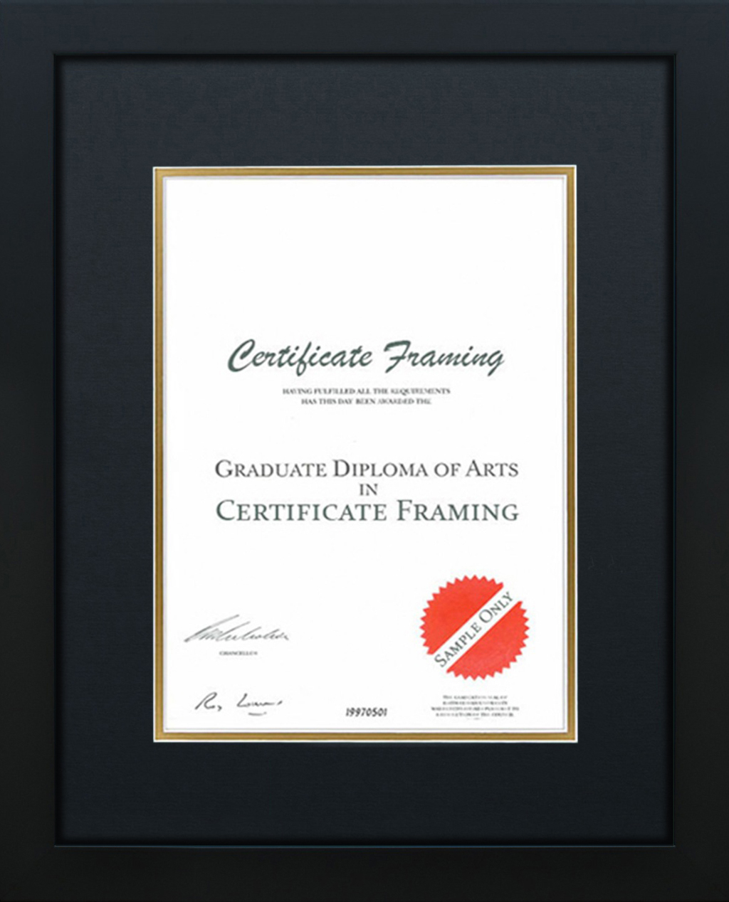 Create your own personal custom made Certificate Frames.