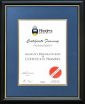 Flinders University Degree Frame