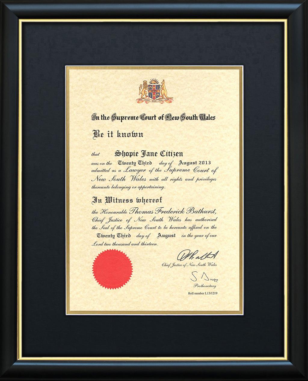 Certificate Framing University Degree Frames Graduation Frames