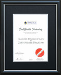 University of Notre Dame Certificate Frame