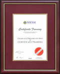 University of Notre Dame Certificate Frame