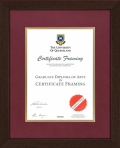 UQ Degree Certificate Frame